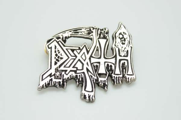 Death - Zamak Pin Badge