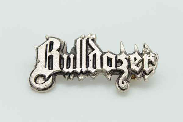 Bulldozer - Zamak Pin Badge