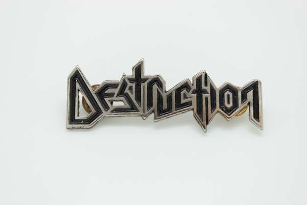 Destruction - Zamak Pin Badge Style 1