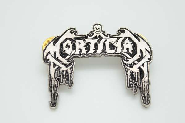 Mortician - Zamak Pin Badge