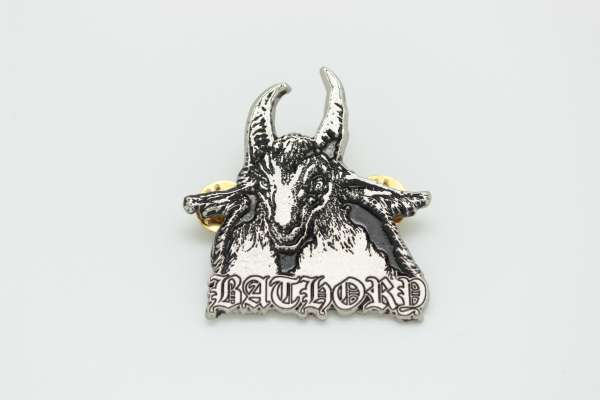 Bathory - Zamak Pin Badge Style 2