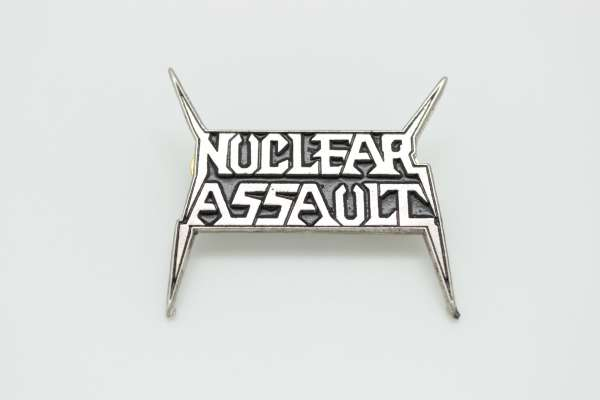 Nuclear Assault - Zamak Pin Badge