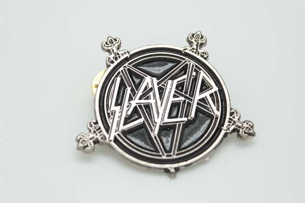 Slayer -Style 2 - Zamak Pin Badge