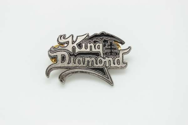 King Diamond - Zamak Pin Badge