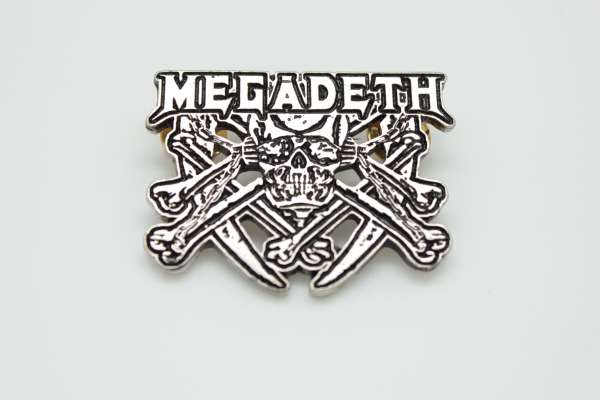 Megadeth - Zamak Pin Badge