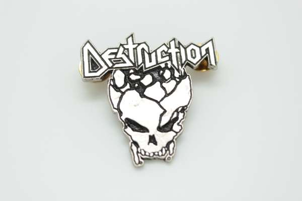 Destruction - Zamak Pin Badge Style 2