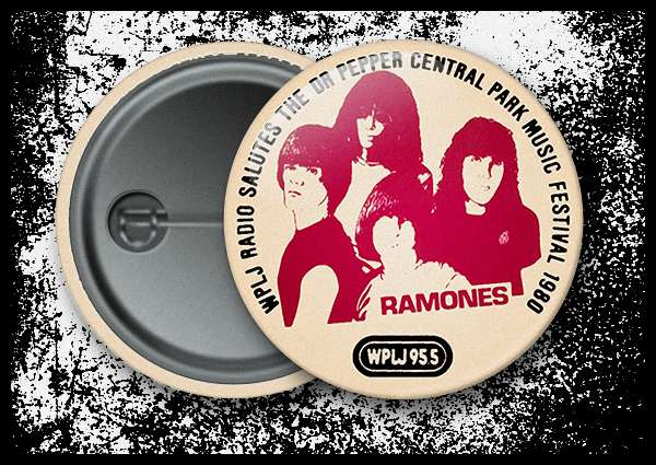 Ramones - 1980 Dr. Pepper Central Park Music Festival