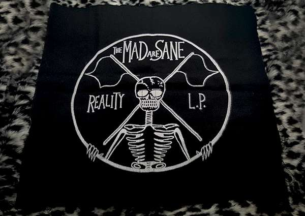 The Mad are Sane - Back Patch