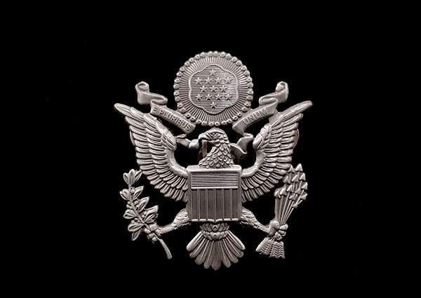 U.S. American Eagle Badge
