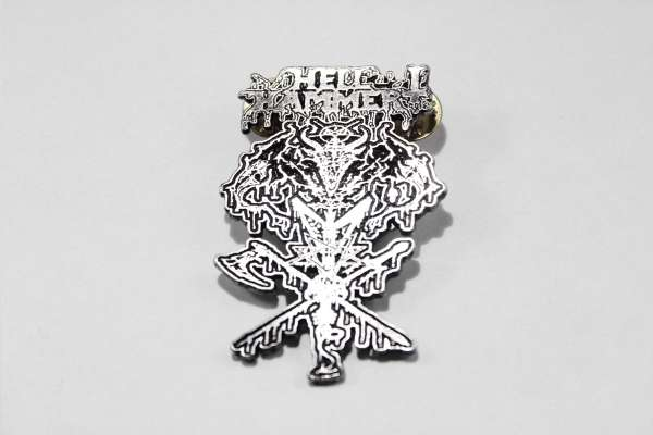Hellhammer - Style 2 - Zamak Pin Badge