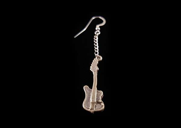 Electric Guitar - Dangle Earring